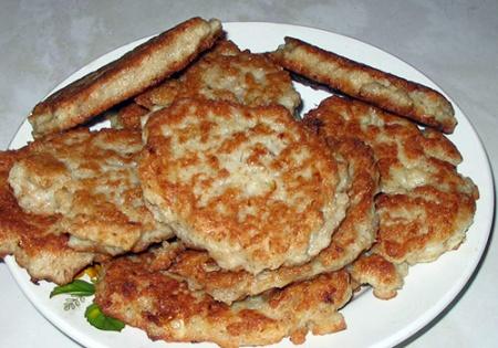 Котлеты из геркулеса. Рецепт полезного блюда