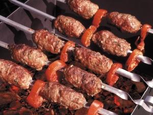 Шашлык из молотого мяса